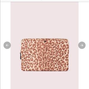 Kate space leopard laptop sleeve